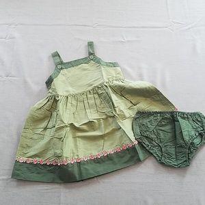 NWT Baby Gap silk dress, 3XL, 3 years